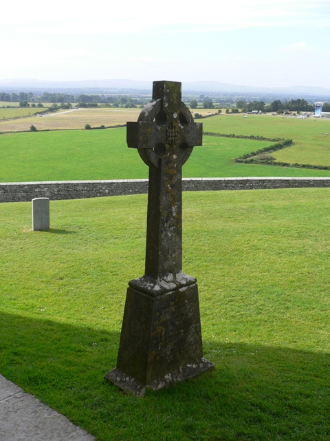 Celtic Cross at the Rock of Cashel